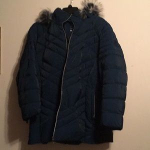 Ladies Winter Coat with detachable hood